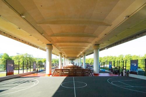 Фото центр уличного баскетбола «Под мостом»
