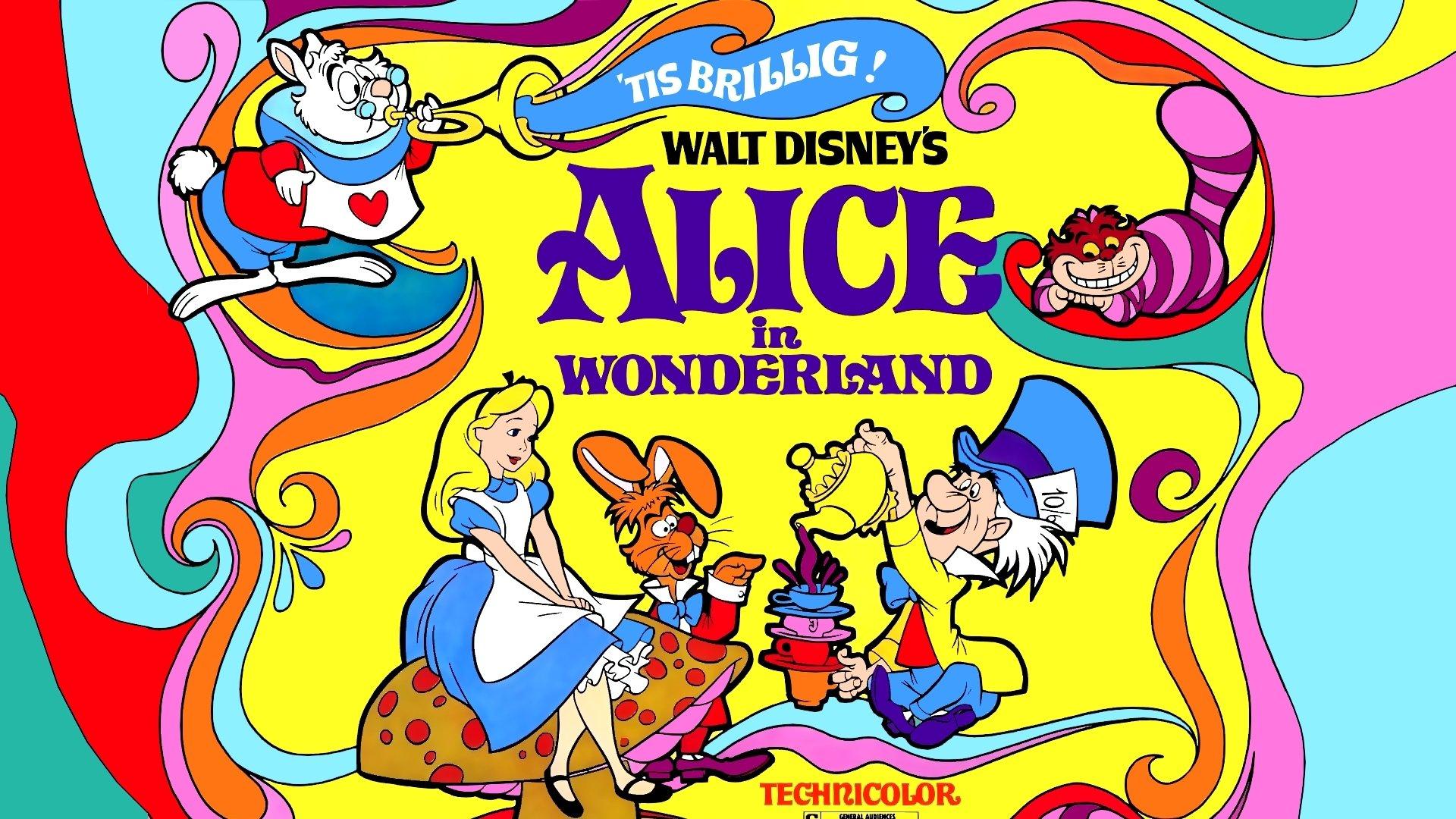 Алиса в Стране чудес смотреть фото