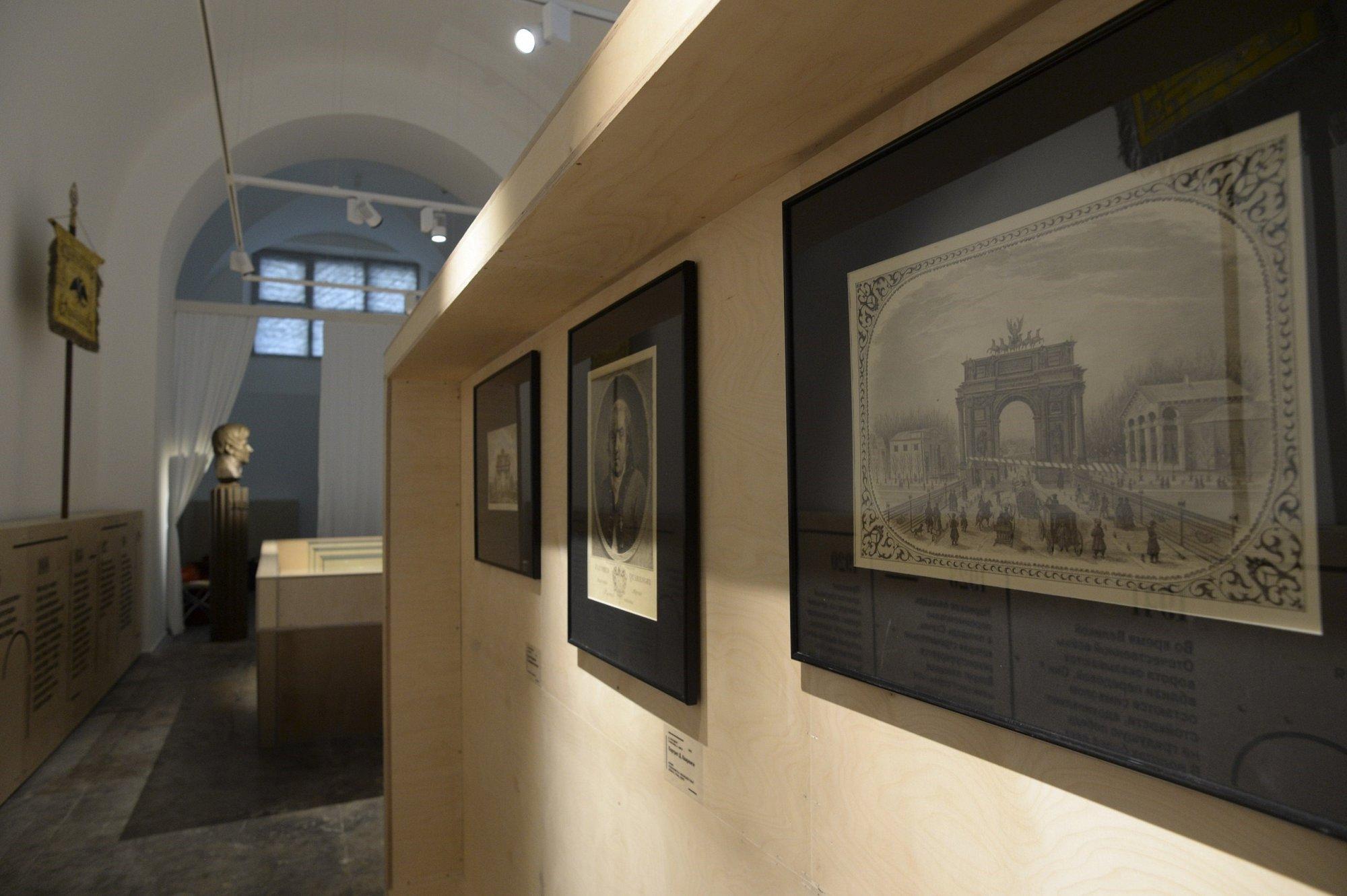 Фото музей Нарвские триумфальные ворота