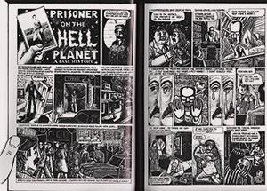 Внутри «Мауса» перепечатан комикс «Узник планеты Ад», нарисованный Шпигельманом еще в 1972-м