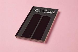 Шпигельман нарисовал обложку номера The New Yorker, вышедшего через две недели после 11 сентября 2001 года
