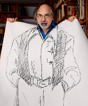 Арт Шпигельман известен не только как автор, но и большой пропагандист комиксов: он пишет про них статьи и читает лекции