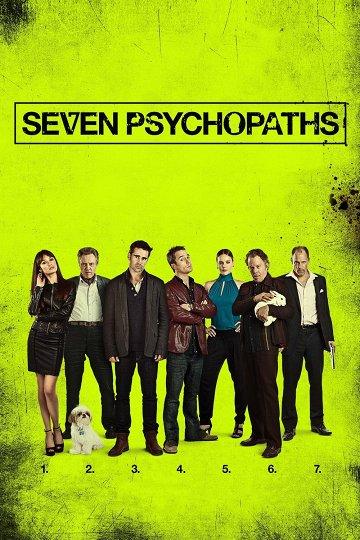 Постер Семь психопатов