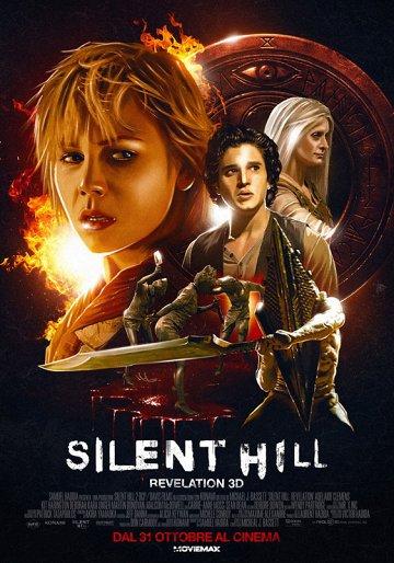 Постер Сайлент-Хилл-2 3D