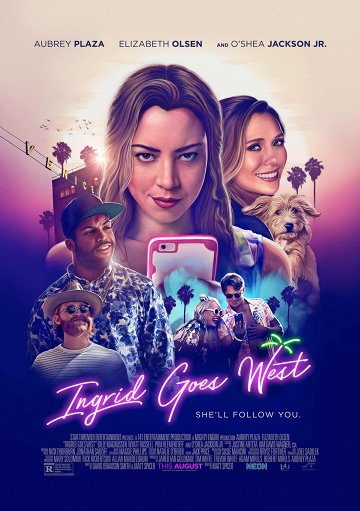 Постер Ингрид едет на Запад