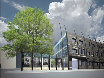 Так будет выглядеть экологичный офис WWF