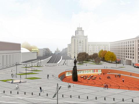 Проект архитектурного бюро Megabudka