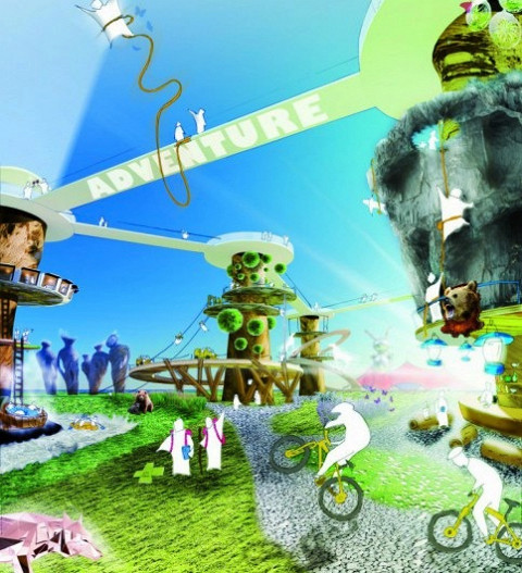 Приключенческая концепция парка