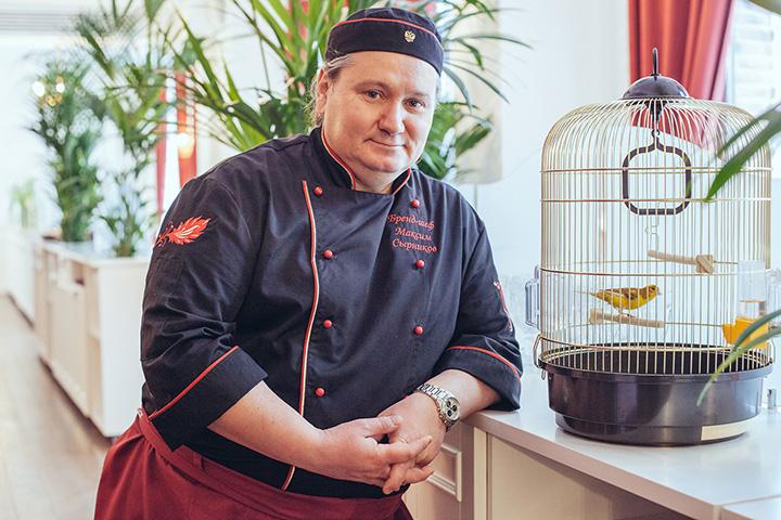 Максим Сырников признается, что его называют кулинарным хоругвеносцем