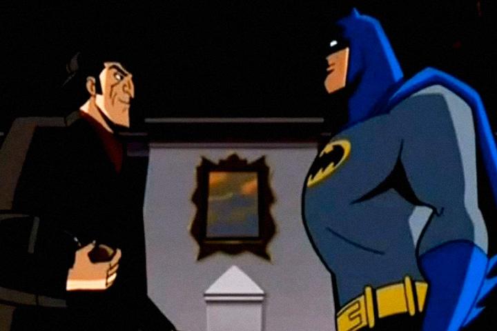 Еще один известный пример современного Шерлока — Бэтмен. Его Ватсоном является дворецкий Альфред (а вовсе не Робин), Лестрейдом — комиссар Гордон, Мориарти — Джокер. У самого Бэтмена тоже есть множество отсылок к Шерлоку — от звания «лучший в мире детектив» и преданности науке до не вполне легальных методов. В одном из эпизодов мультсериала «Бэтмен: отважный и смелый» (2008) человек-мышь с помощью машины времени встречает своего исторического прототипа. Шерлок моментально разгадывает, что Бэтмен — это на самом деле миллионер Брюс Уэйн, а Бэтмен тоже сразу узнает Шерлока — по шапочке.