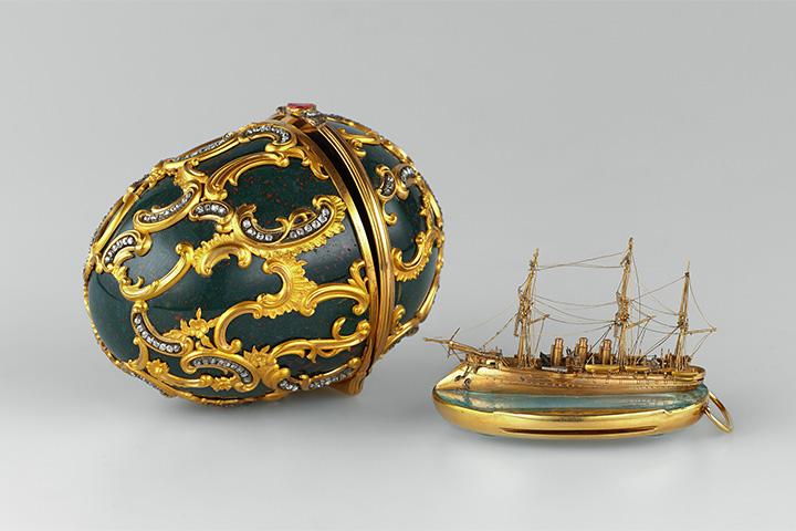 Яйцо «Память Азова». Мастерская Фаберже, 1891