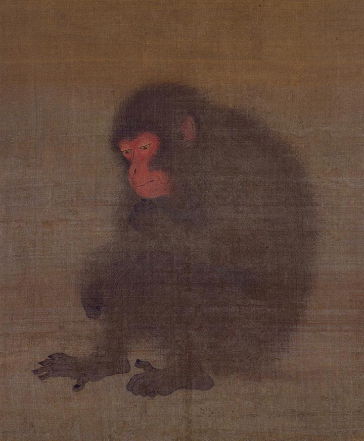 Неизвестный художник. Обезьяна, вторая четверть XII века