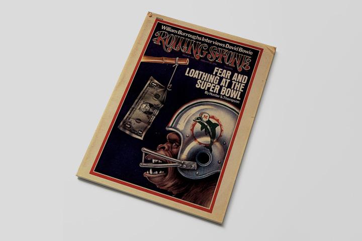 Обложка журнала Rolling Stone со статьей Хантера Томпсона