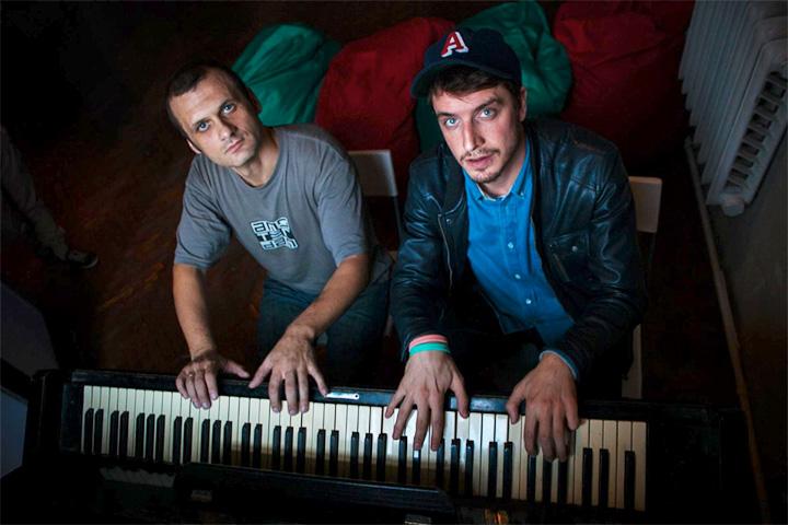 Слева направо: Илья Барамия, Кирилл Иванов