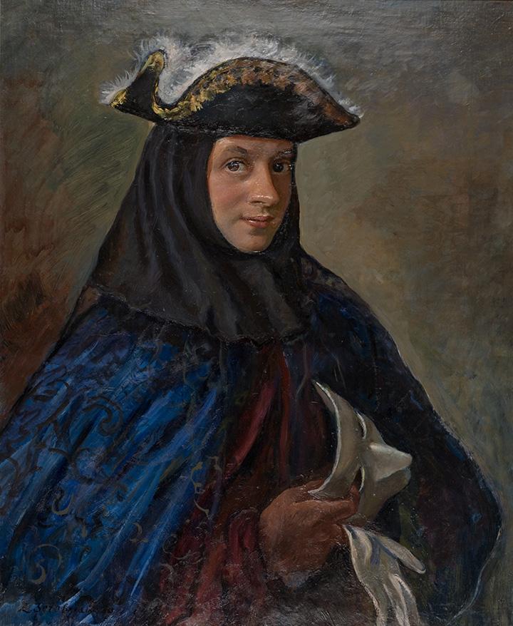 «Портрет Александра в карнавальном костюме», 1952