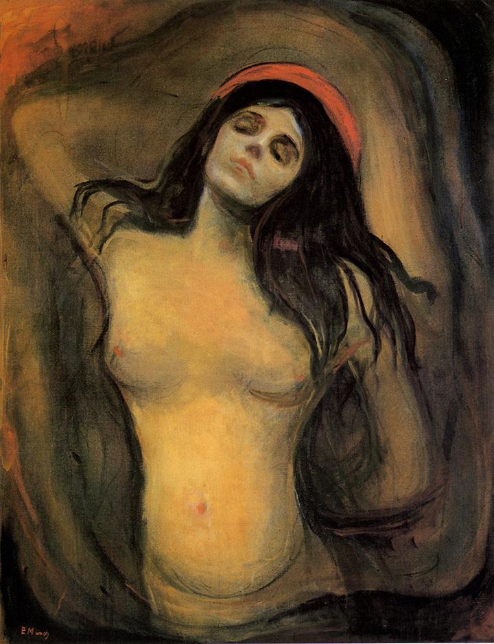 Эдвард Мунк. Мадонна, 1894