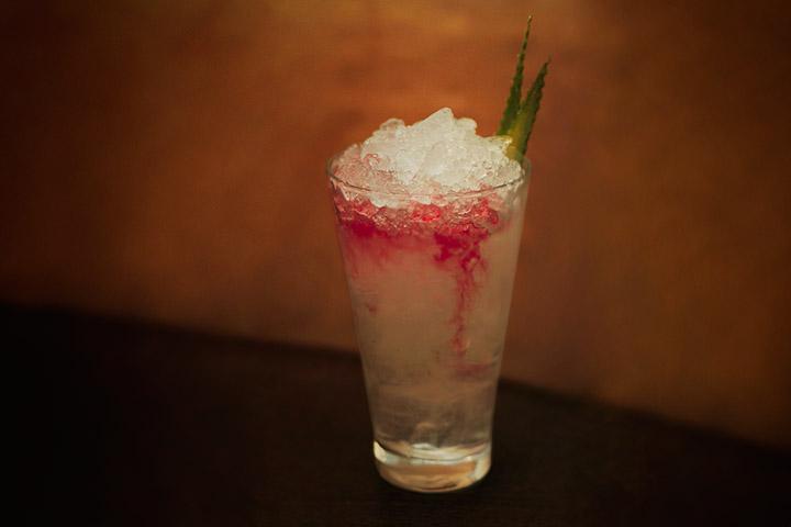 Best Cellar Cooler, 550 р. (джин, абсент, сок алоэ, жасминовый мед, сок лайма)