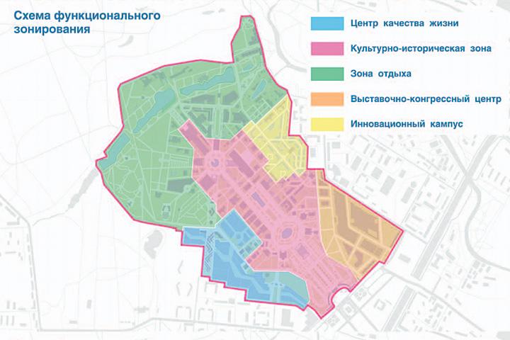 Согласно концепции, которую одобрил совет директоров ВВЦ, территория будет поделена на несколько кластеров с разными функциями