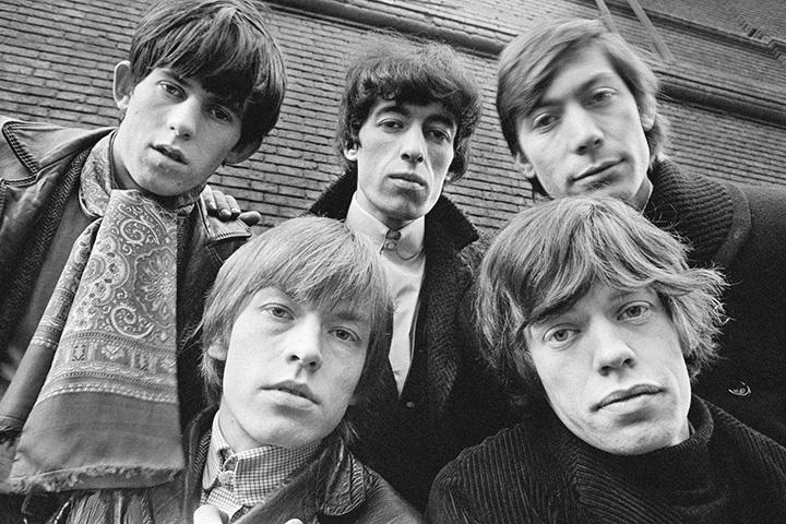 Фотографий Чапмана история не сохранила; здесь — одно из первых фото The Rolling Stones, уже с Чарли Уоттсом