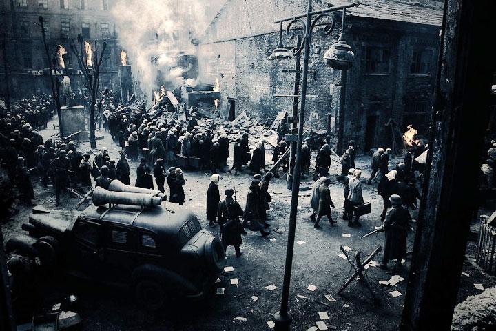 «Сталинград»: немцы угоняют мирное население