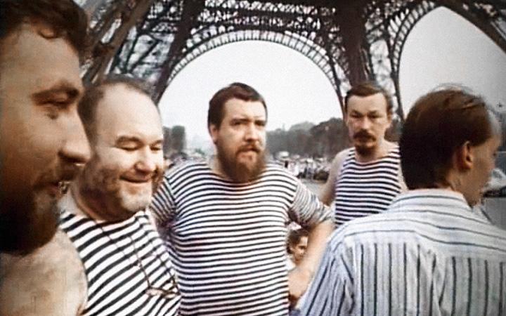 Дмитрий Шагин (в центре) помнит тур по Европе очень слабо, а вот Владимир Шинкарев (справа) справедливо полагает его апогеем движения