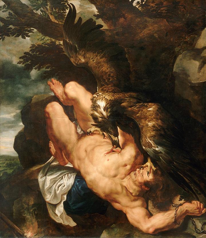 Питер Пауль Рубенс. Прометей прикованный, 1610–1612
