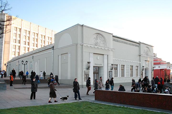 Так будет выглядеть фасад «Художественного» после реконструкции