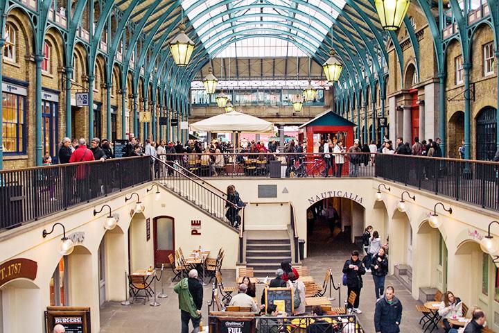 Лондонцам удалось отстоять здание рынка Ковент-Гарден