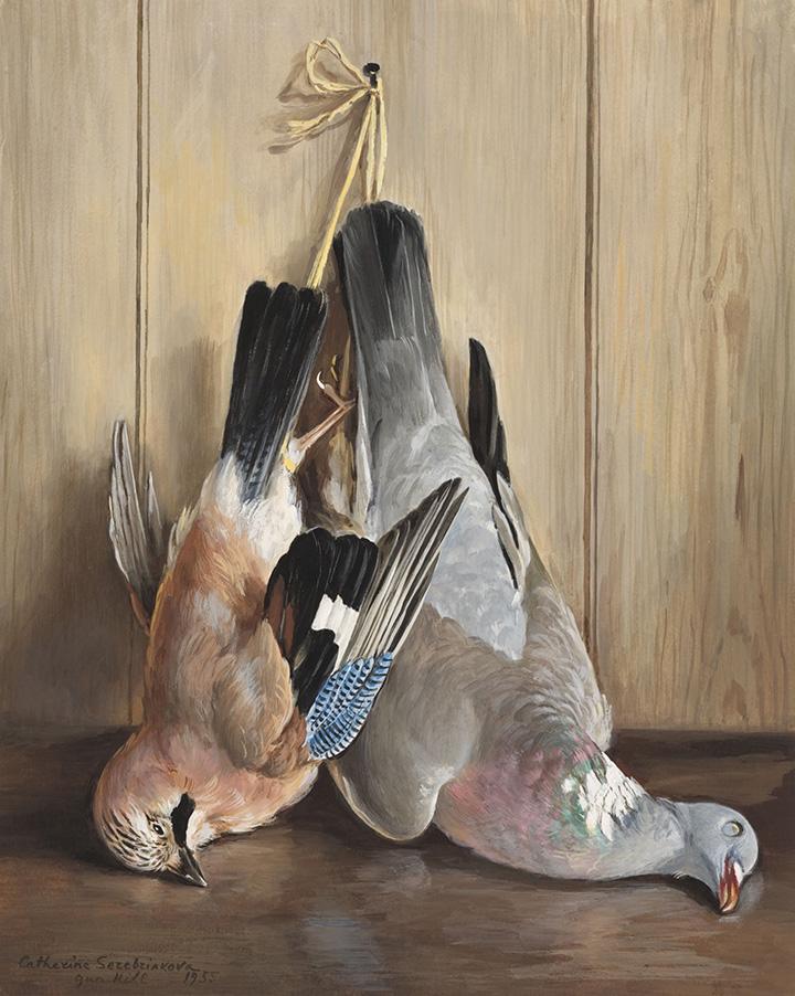 Екатерина Серебрякова. «Птицы», 1955