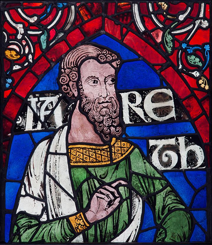Иаред. Витраж Кентерберийского собора, 1178–1180