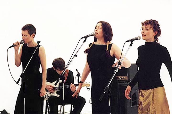 «Колибри» в 2001-м: Наталья Пивоварова уже ушла из группы, в основном составе появились мужчины