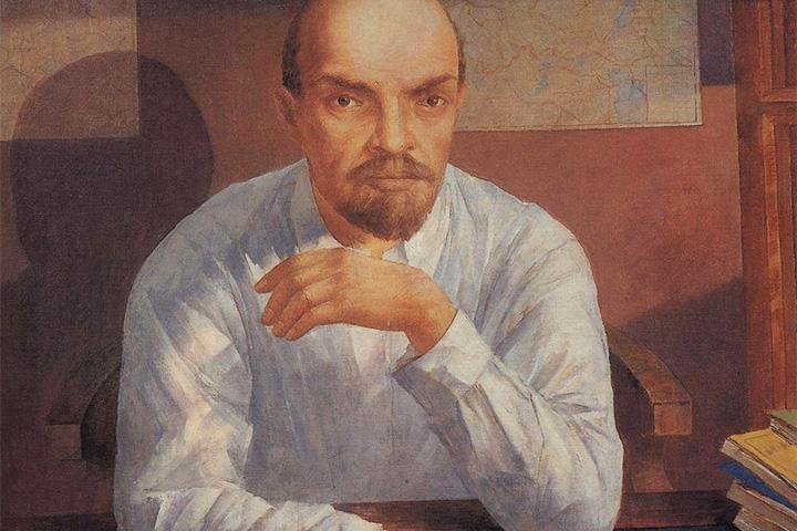 Портрет В.И.Ленина, Кузьма Петров-Водкин, 1934