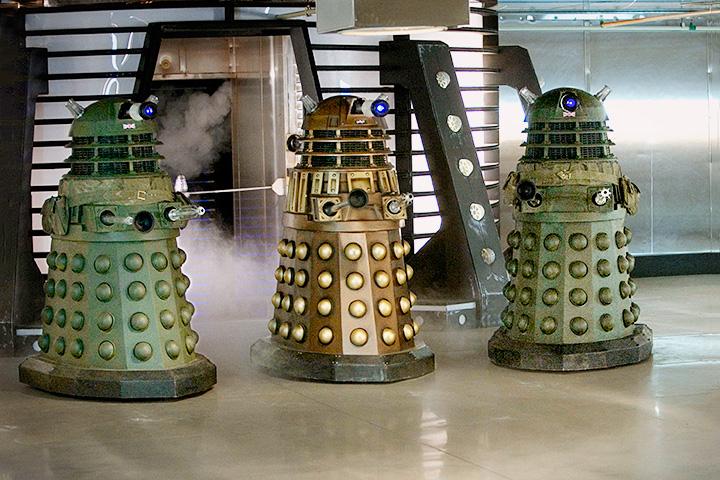 Далеки — самые заклятые (и нелепые) враги Доктора, которые преследуют его все 50 лет существования сериала