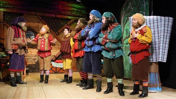Театр: Белоснежка и семь гномов, Москва