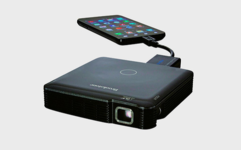 Проектор Brookstone HDMI Pocket Projector