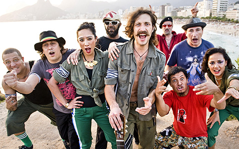 Gogol Bordello в Arena Moscow