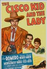 Постер Циско Кид и леди