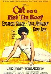 Постер Кошка на раскаленной крыше