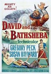 Постер Давид и Вирсавия