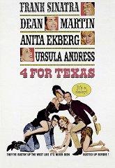 Постер Четверо из Техаса