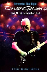 Постер David Gilmour Remember That Night