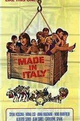 Постер Сделано в Италии