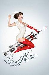 Постер Медсестра 3D