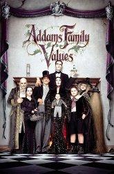 Постер Ценности семейства Аддамс