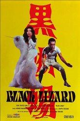 Постер Черная ящерица