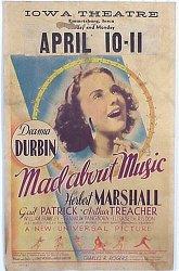 Постер Без ума от музыки