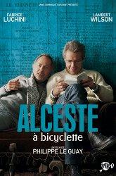 Постер Альцест на велосипеде
