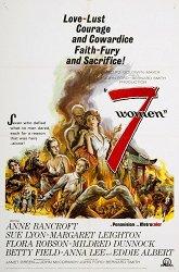 Постер Семь женщин