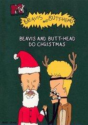 Постер Бивис и Баттхед уделывают Рождество
