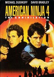 Постер Американский ниндзя-4: Полное уничтожение